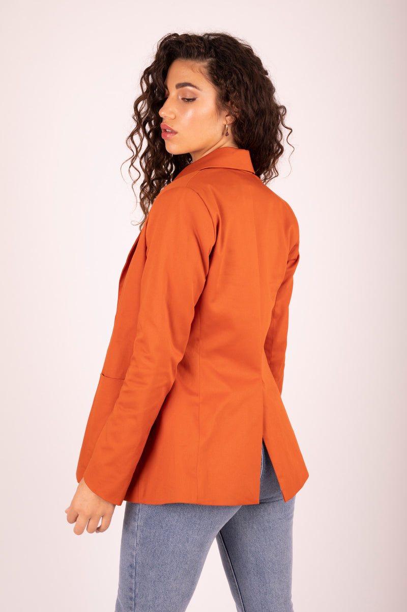 Kaia Blazer Sweet Potato 4