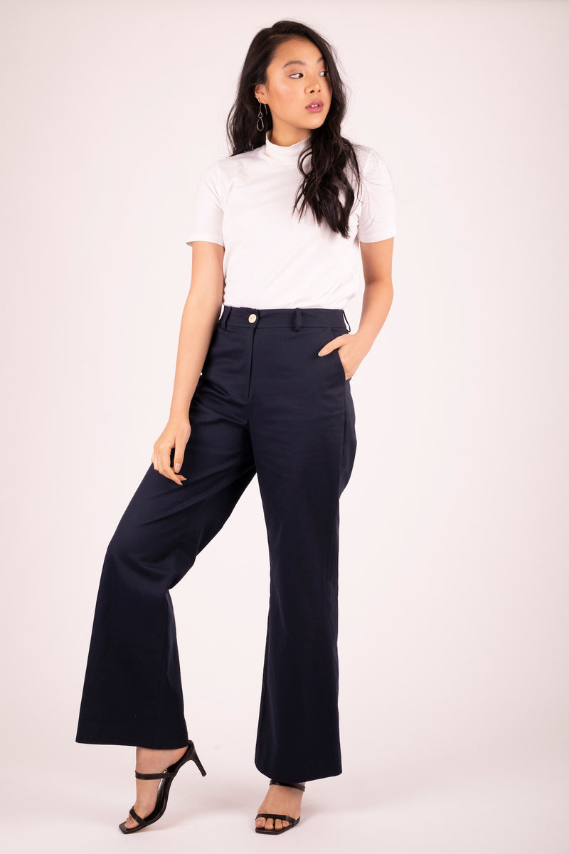 Brooklyn Flare Pant Midnight 1