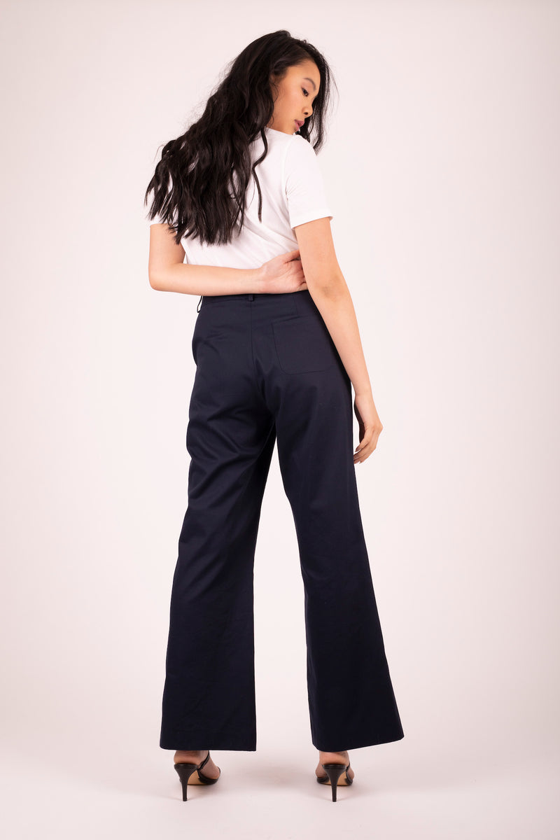 Brooklyn Flare Pant Midnight 4