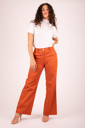 Brooklyn Flare Pant Sweet Potato 2