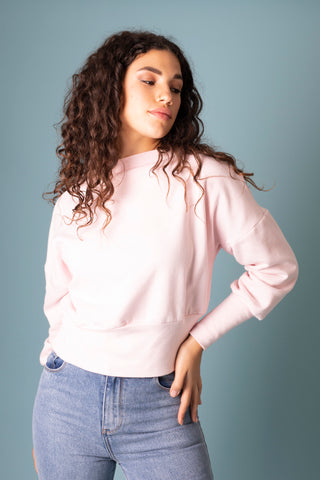 Sophia Top - Powder Pink