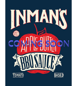 Inman's Spicy Apple Butter BBQ Sauce