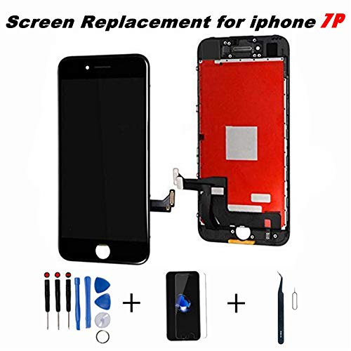 new arrival 17e57 3caa2 Screen Replacement for iphone 7 PLUS 5.5 Inch LCD 3D Touch Screen Digitizer  Display Replacement Including Repair Kit and Screen Protector