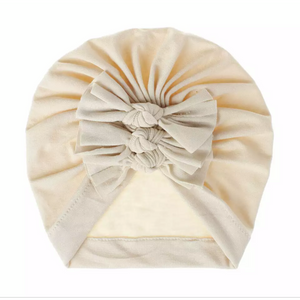 Turban Hat~Tan
