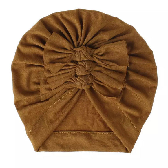 Turban Hat~Coffee