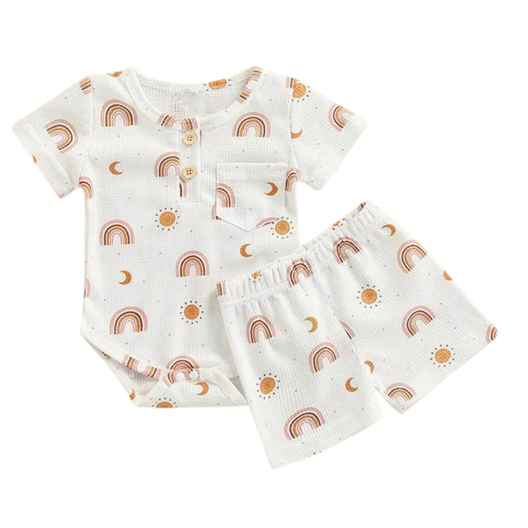 Medium Classic Bow~Floral Garden