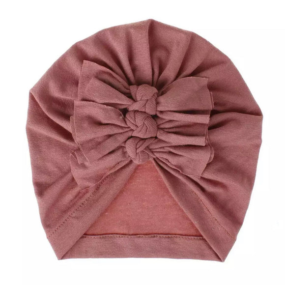 Turban Hat~Mauve