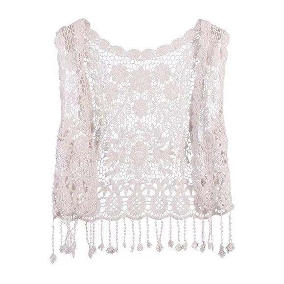 Enchanted Beauties - Crochet Vest - More Options