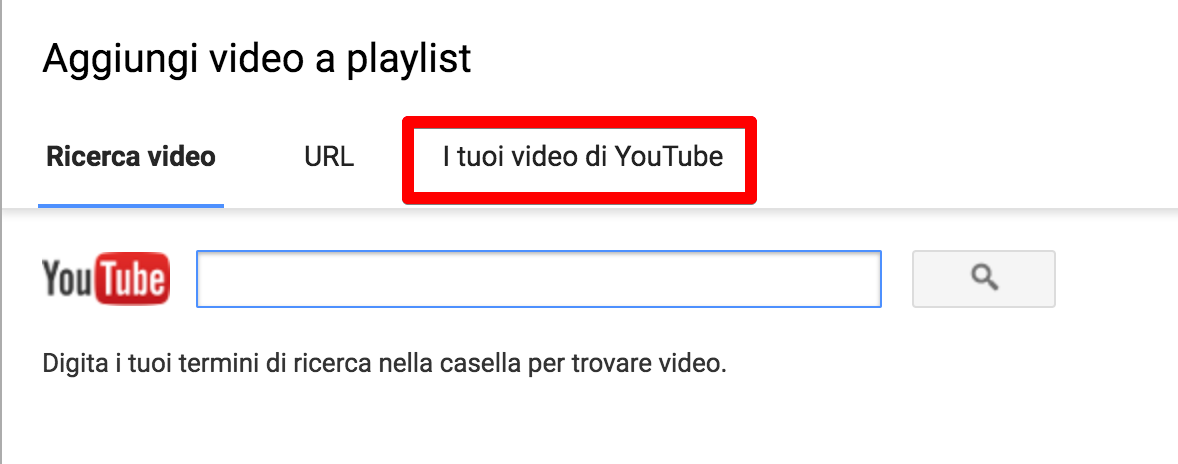 scegli video