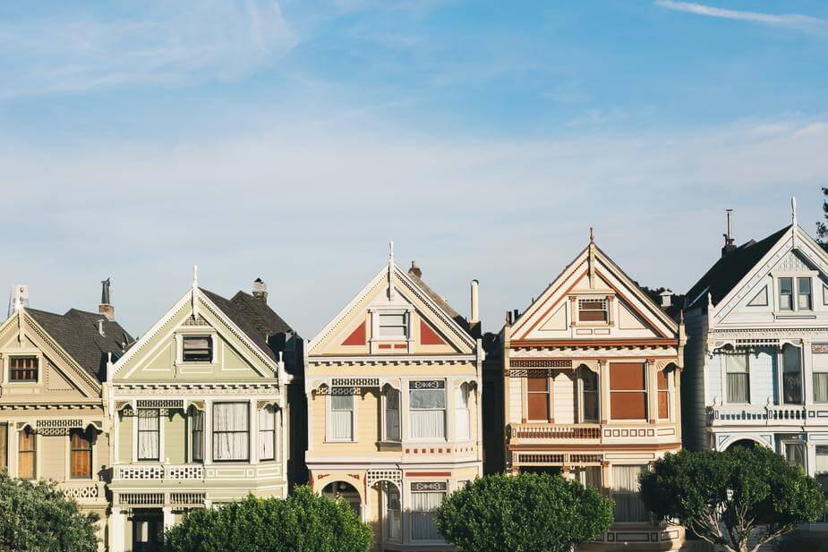 "San Francisco's famous ""Painted Ladies"" Houses"