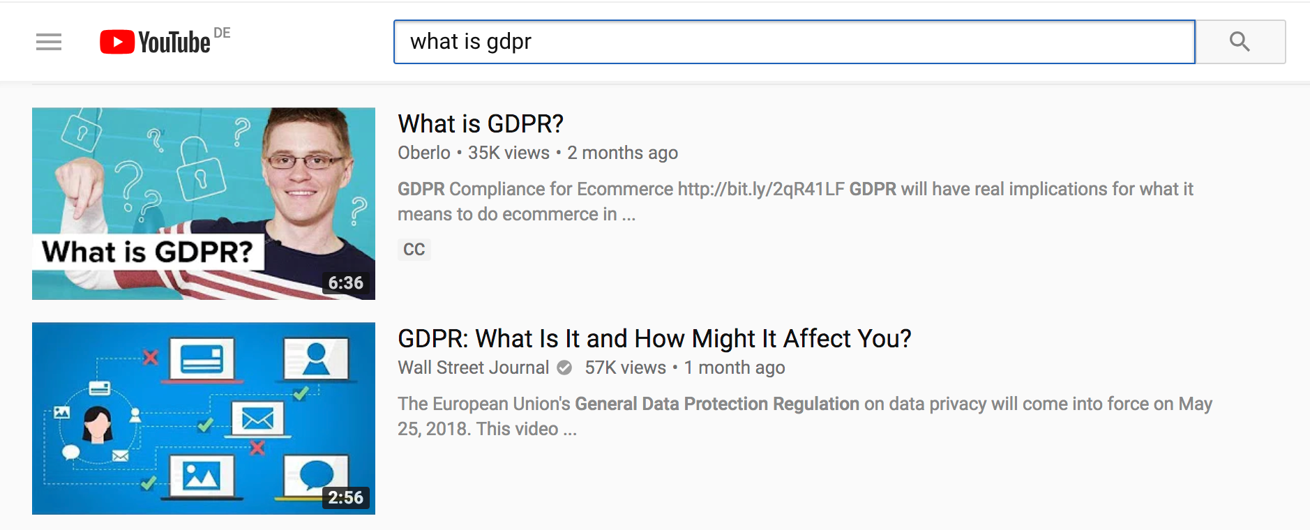 what is gdpr posizionamento