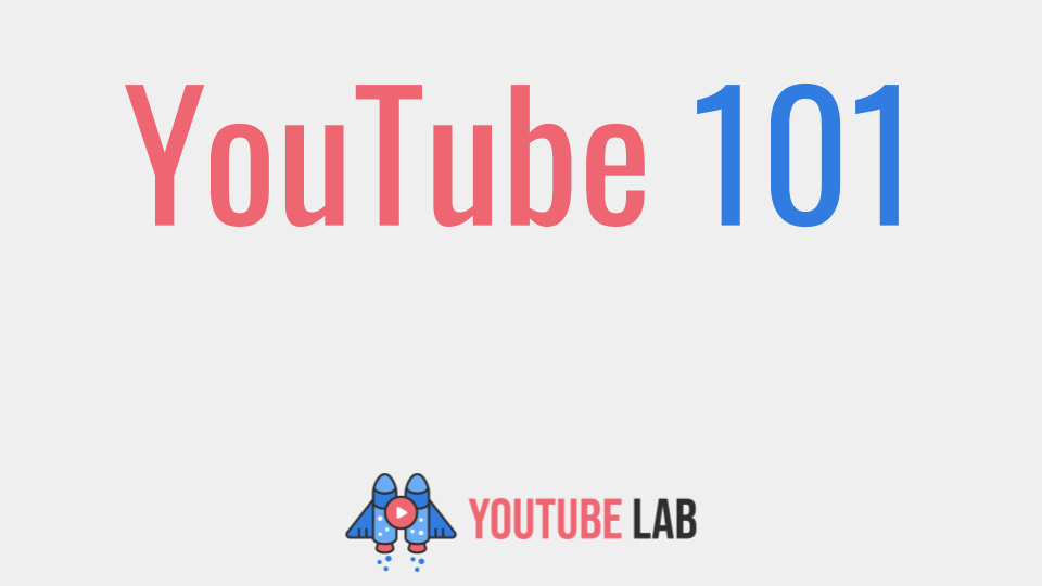 YouTube 101 - video corso