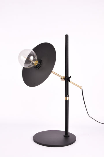 Sputnik Brass Table Lamp