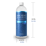 Ancient Minerals® Magnesium Oil Ultra 33.8 fl oz in spray bottle size 10L x 4.25D inches