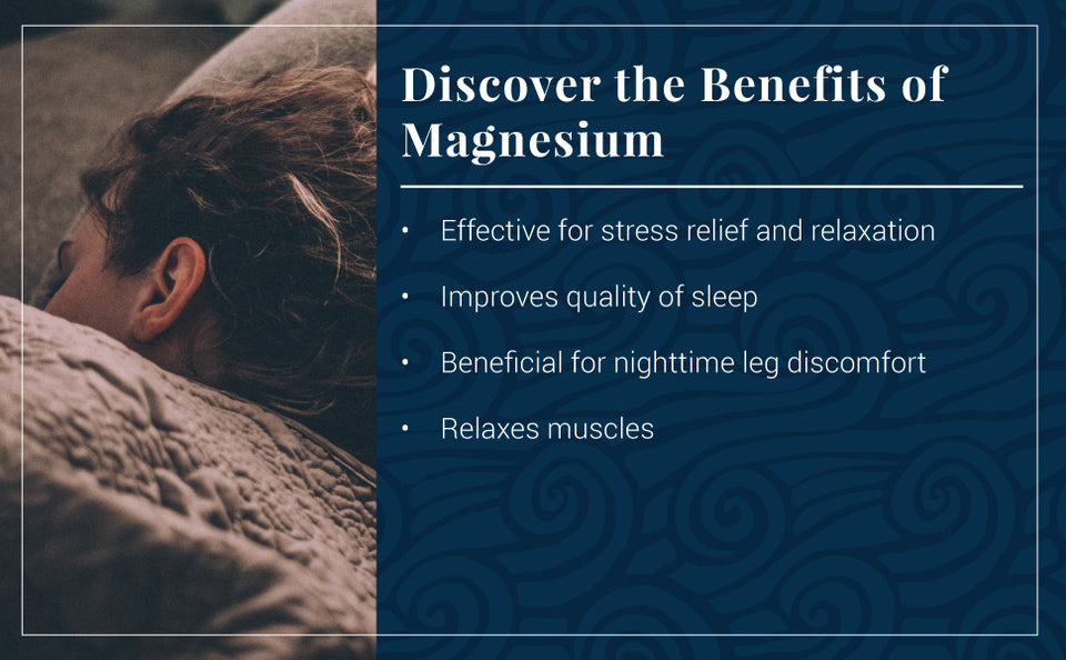 Benefits of Ancient Minerals® Magnesium with Melatonin