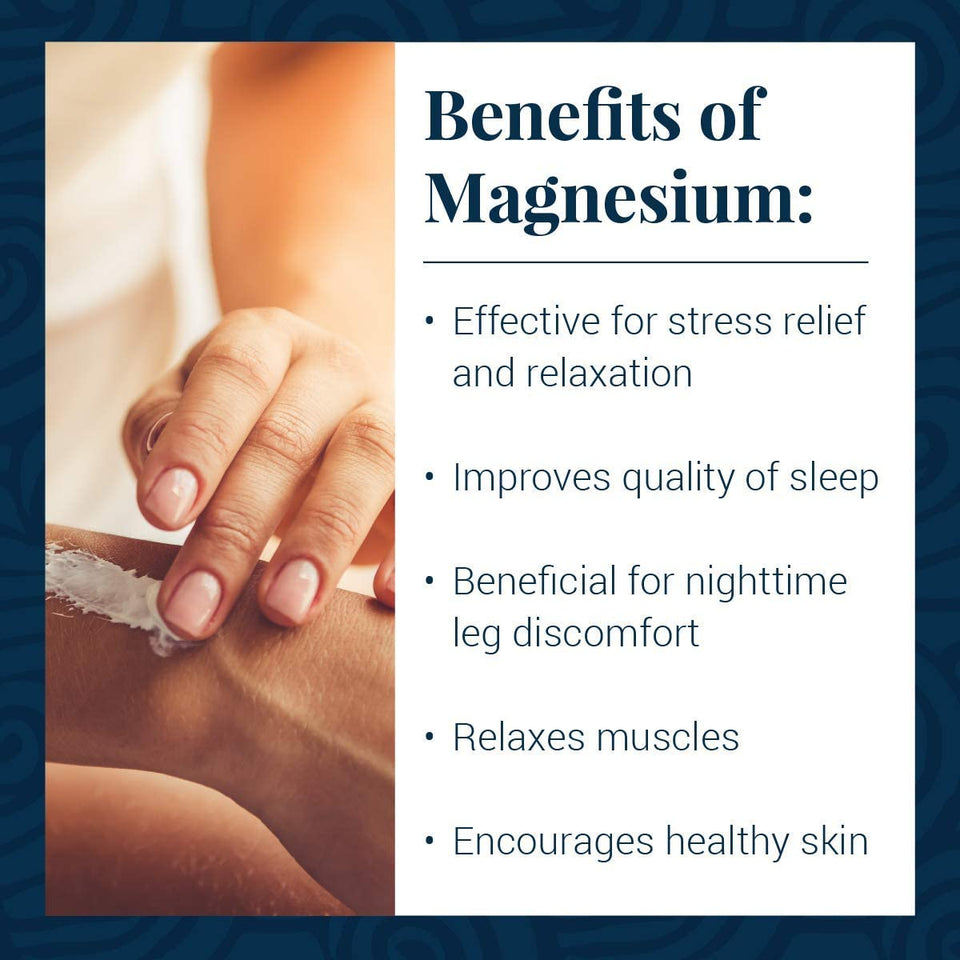 Ancient Minerals Topical Magnesium Lotion Benefits
