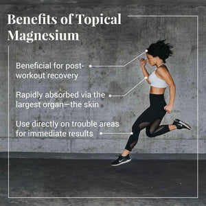 Ancient Minerals Topical Magnesium Benefits for the active person