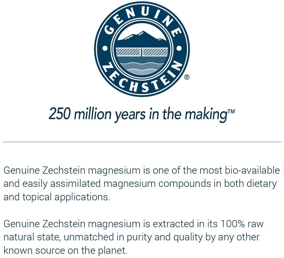 Ancient Minerals Genuine Zechstein Magnesium All Natural and Pure Ingredients