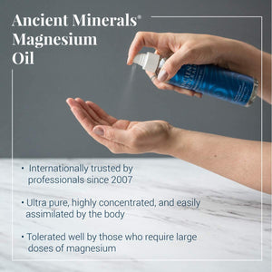 Ancient Minerals® Magnesium Oil special features