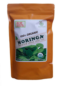 Regular Pack Moringa Loose Leaf Tea 5 oz