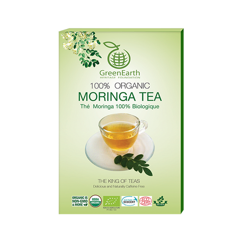 GreenEarth Moringa Premium Loose Leaf Tea 3.5 oz (100g)