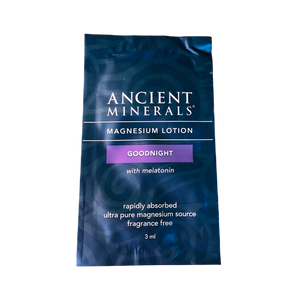 Ancient Minerals® Magnesium Lotion Goodnight 6 ml in Sample Sachet