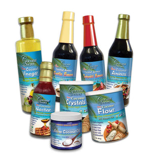 Coconut Secret® Set of 8