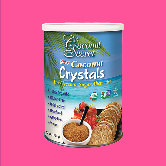Coconut Crystals (Sugar) 12 oz.