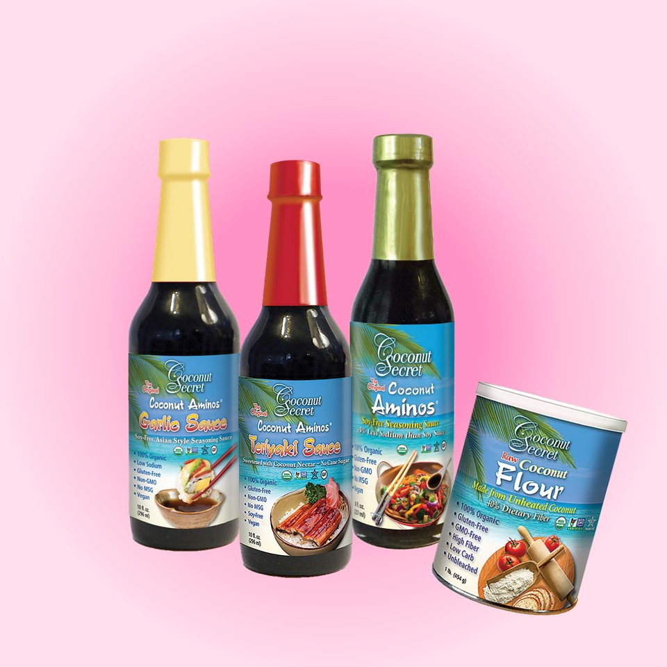 Coconut Secret® Healthy Thick n' Saucy Set of 4