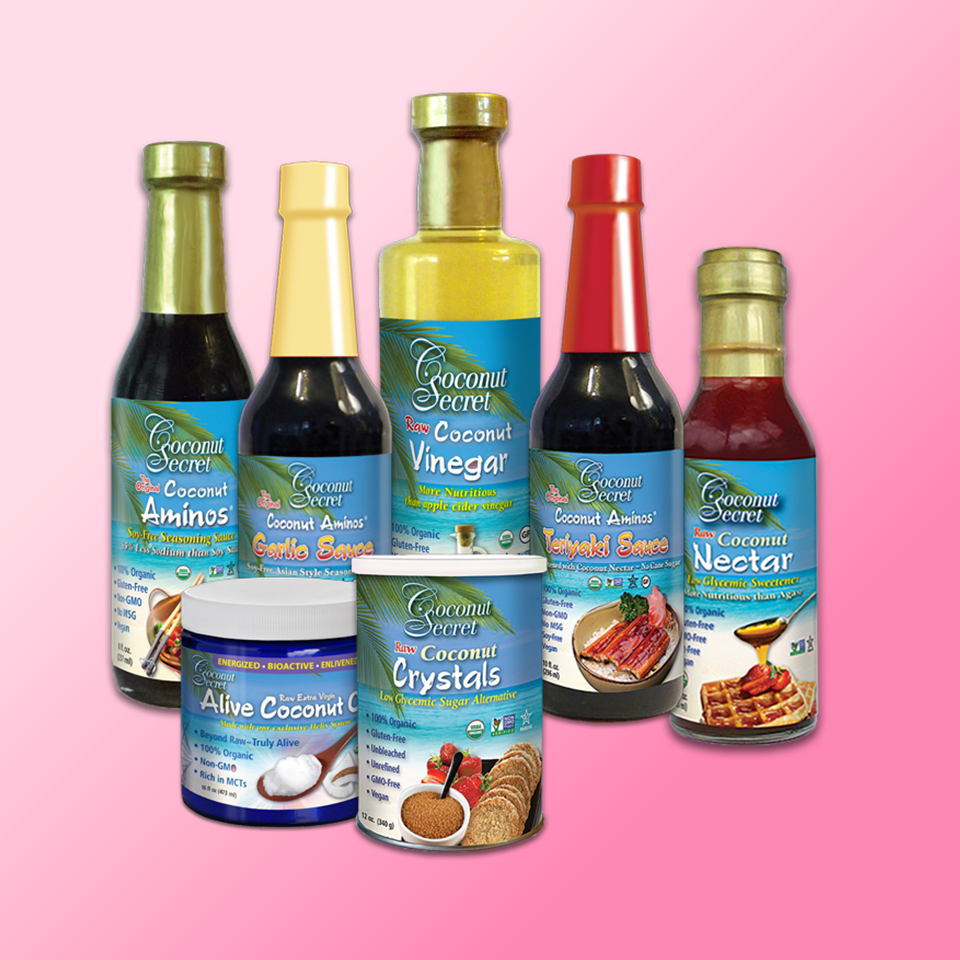 Soy-Free Coconut-based Condiments Set of 7