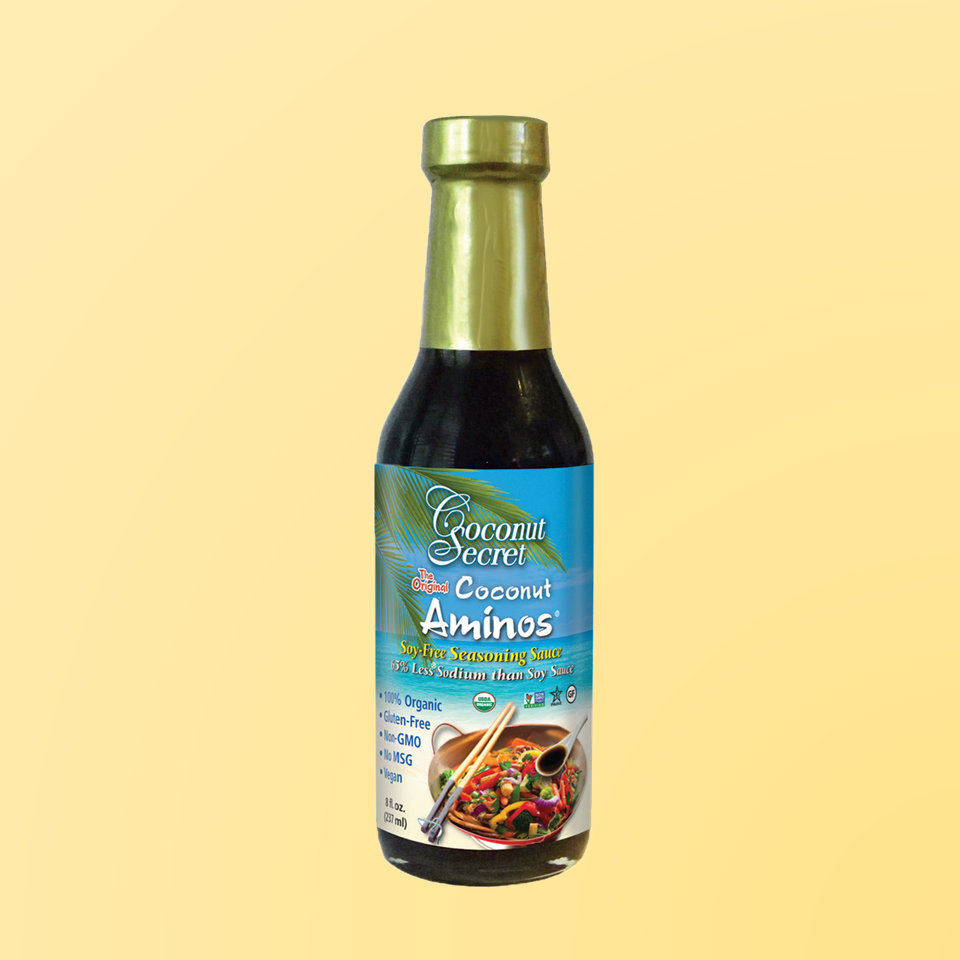 Coconut Secret® Organic Aminos Soy-Free Seasoning Sauce, 8 oz. 1 Dozen at $7.39/pc