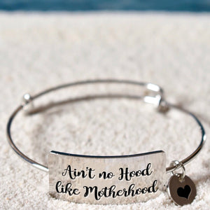 Mother Hood Bangle Bracelet