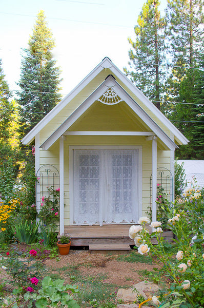 Plans to Build a DIY She Shed aka Crafting Cottage, Garden Shed