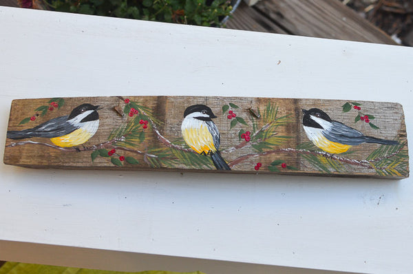 Paint a Chickadee Painting e-book with Traceable Pattern