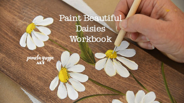 Paint Beautiful Daisies Workbook