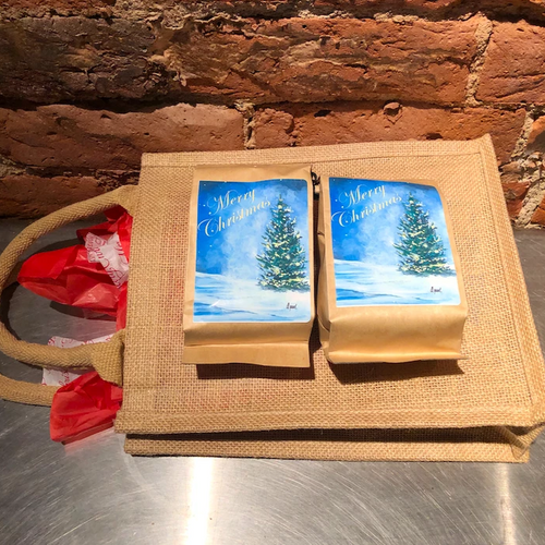 Holiday Coffee Gift Bag