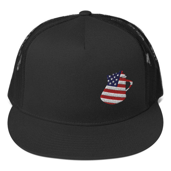 Red, White & Blue Trucker Cap
