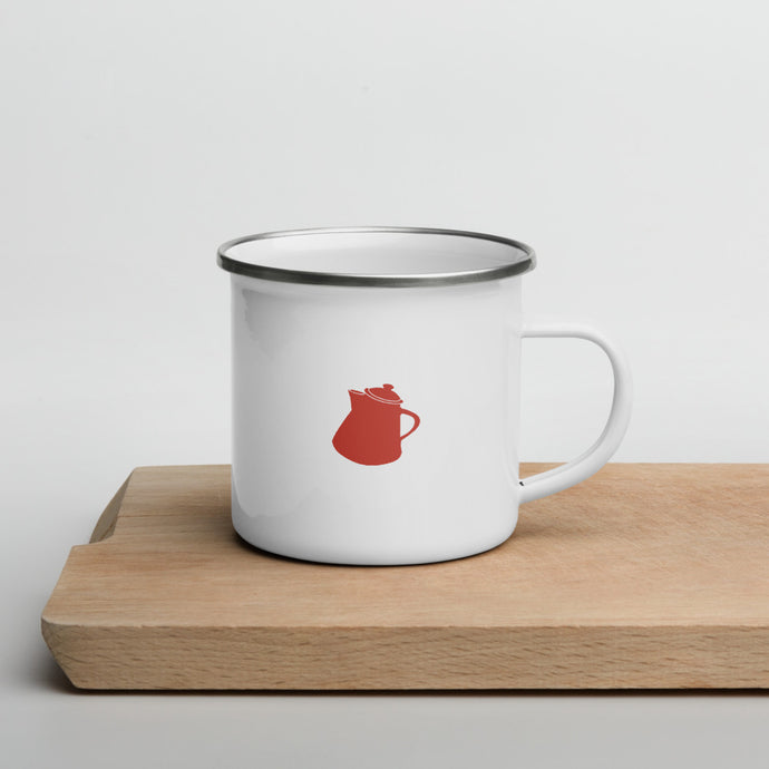 Camper Mug (Enamel) - 2 sided