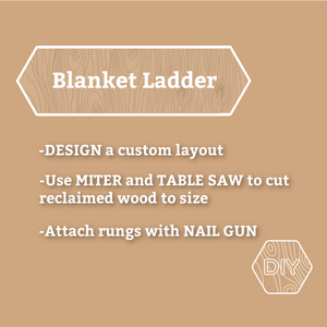 Blanket Ladder Workshop