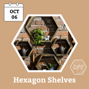Hexagon Shelves Workshop