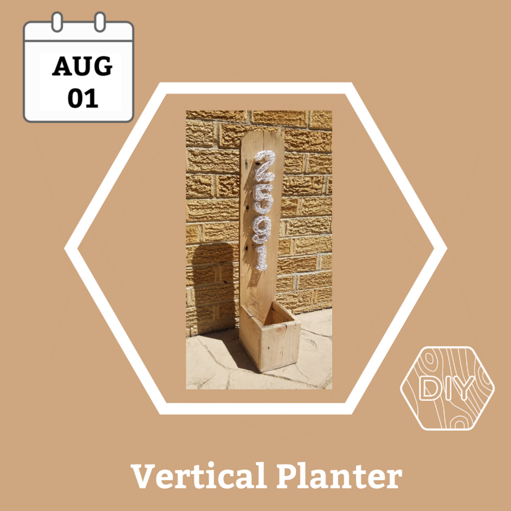 Vertical Address Planter