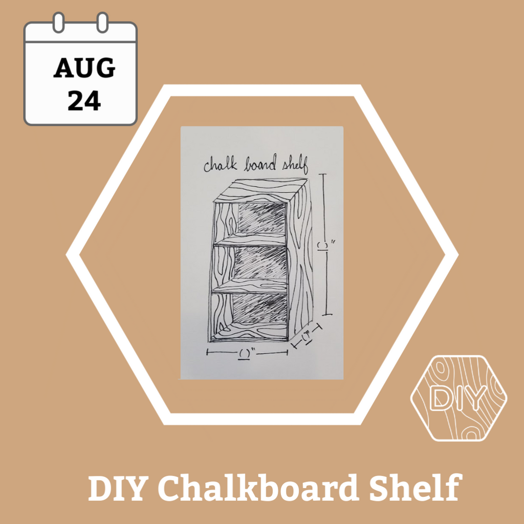 Chalkboard Shelf Workshop