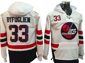 half off 610aa 45279 Winnipeg Jets Lacer - Dustin Byfuglien White Winter Classic