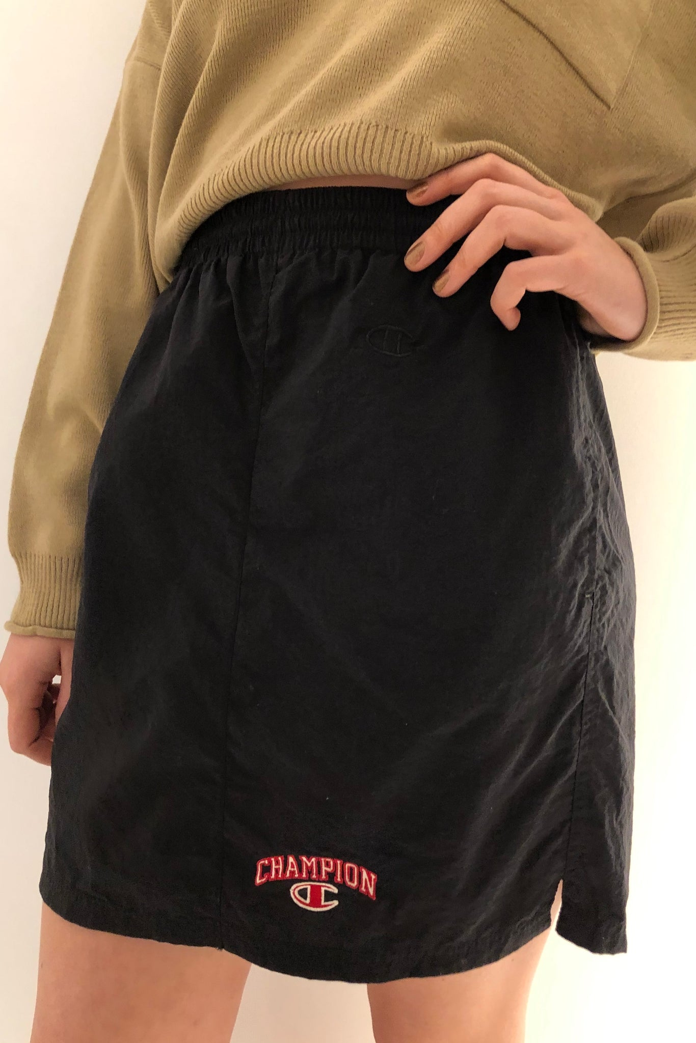 Vintage Re-Work Champion Skirt