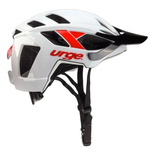 urge - casque trailhead unisex blanc-rouge