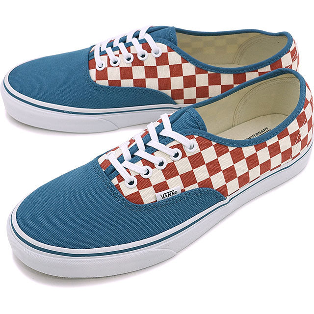 3a808eb74e VANS AUTHENTIC VN0A348ALVK 50 TH CHECKERBOARD BLUE ASHES – Dailynormal