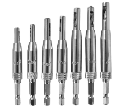 Self-Centering Drill Bit Set