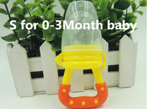 Baby Pacifier Food Feeding Nipple Food Milk Nibble Feeder - RB Trends