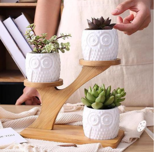 Owl Wooden Tree - RB Trends