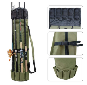Fishing Rod and Tackle Shoulder Bag - RB Trends
